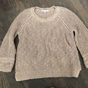 Madewell cotton linen sweater